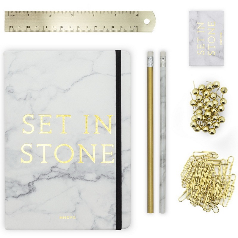 Luckies Set In Stone Stationery Set